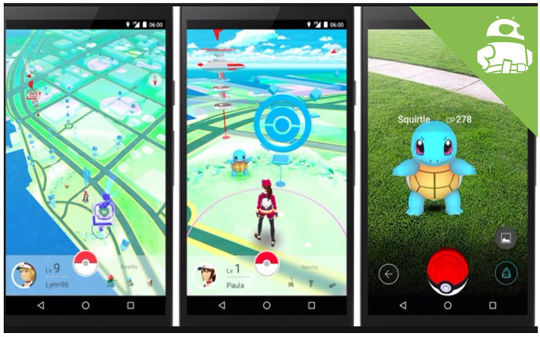 Screen Shot For Pokemon Go Mod Apk