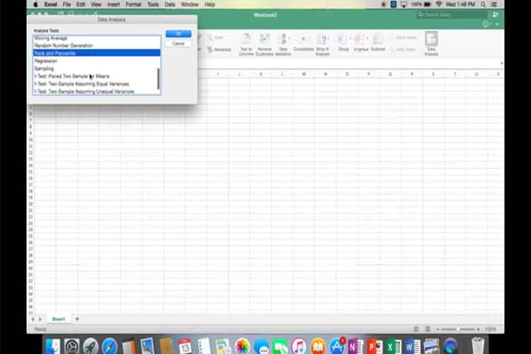 How to Add Data Analysis in Excel MAC - Tech Billow