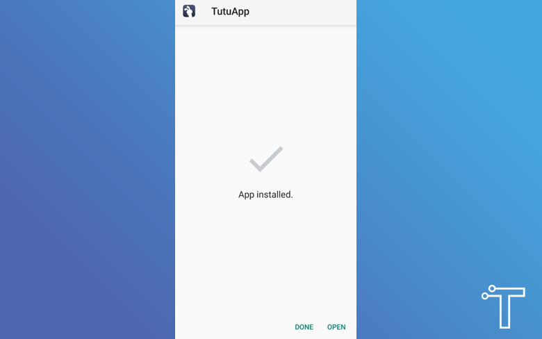 Install TuTuApp on Android