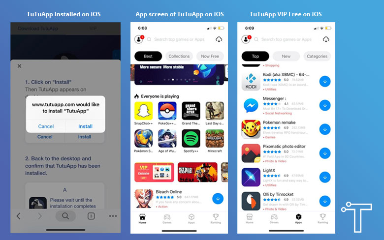 Download TuTuApp APK on Android, iOS & PC (Full Updated) - Tech Billow