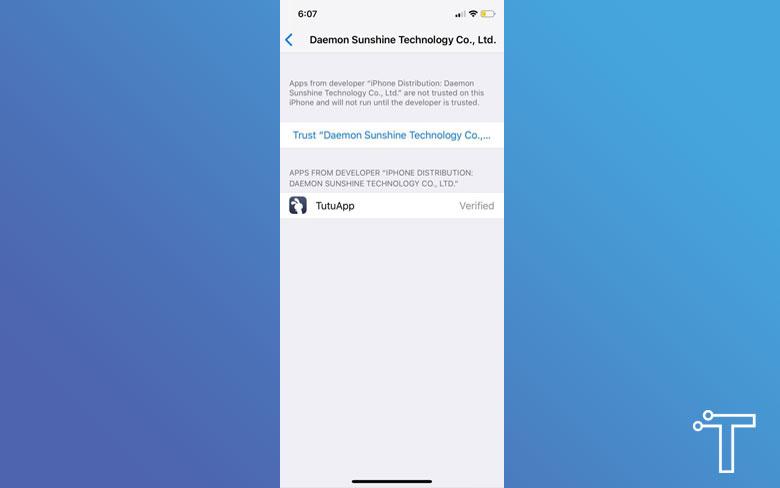 TuTuApp Profile