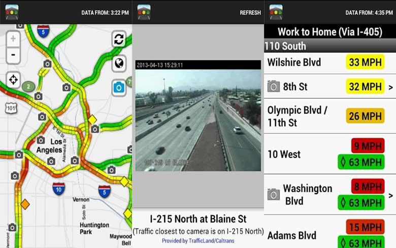 Sigalert Traffic Reports