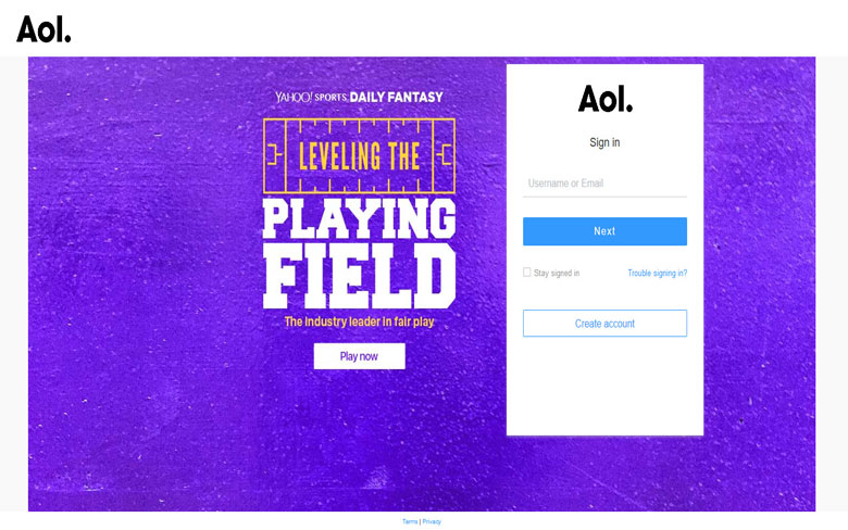 AOL Mail Free Email Providers