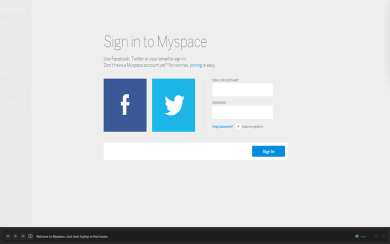 Myspace Free Email Service