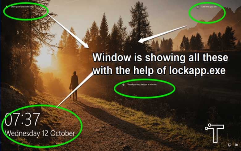 What is LockApp.exe