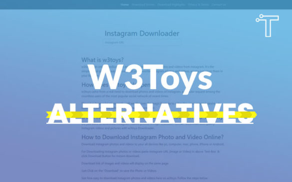 W3toys Alternatives – 15 Best Similar Websites 2020