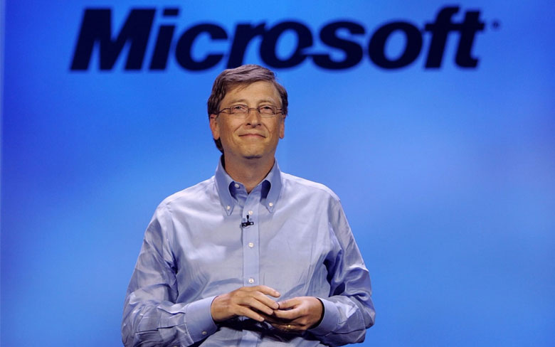 how did Bill Gates Maintain his stakes after stepping down as the CEO of Microsoft