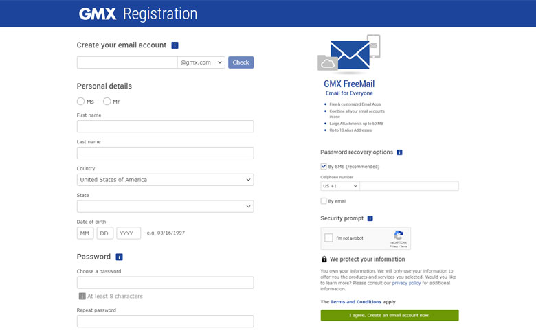 How to create a GMX Account?