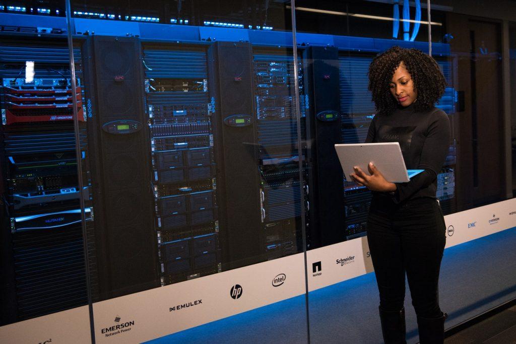 Data female worker
